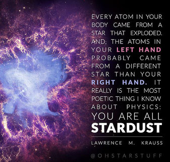Stardust quote by Lawrence M. Krauss