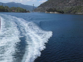 Rasant durchs Lysefjord
