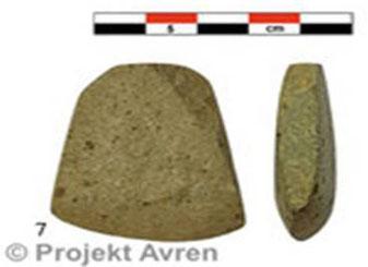 """Fund aus der """"Aussensiedlung"""" von Avren-Bobata"""