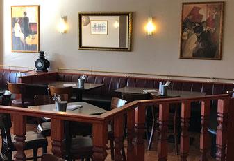 Brasserie Rendezvous. Bistro. Café. Restaurant.