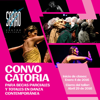 Convocatoria a Plan de Becas en Danza Contemporánea