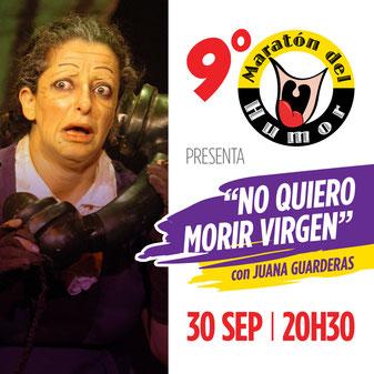 """Juana Guarderas como """"Aurelia Romero, la marujita cuencana"""" será la encargada de inaugurar el 9no. Maratón del Humor de SARAO."""
