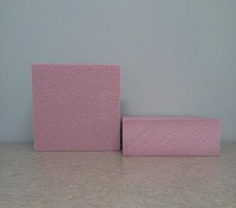 8x8x3in foam blocks shown