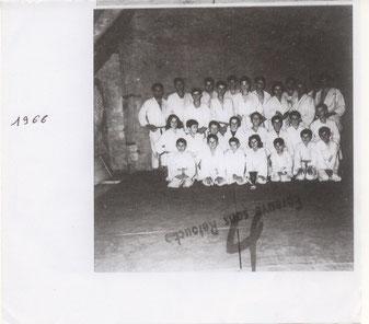 Club de judo en 1966