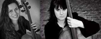 Amandine Le Puil & Laure Buruiana, violoncelles