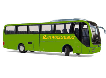 leerer Fernreisebus