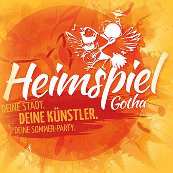 Heimspiel Gotha - Deine Stadt. Deine Künstler. Deine Sommer-Party.