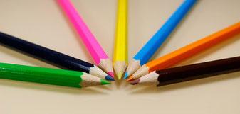 Buntstifte die zum Ziel führen -  welche Behandlung ist bei welchen Erkrankungen geeignet?