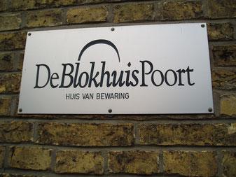 Logo De Blokhuispoort Huis van Bewaring