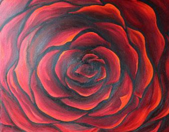 © Rose 50x70cm