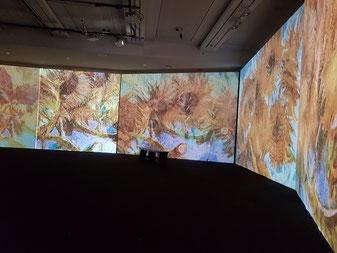 "The ""Van Gogh Alive"" experience"