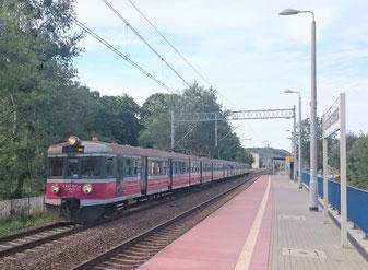 Regionalzug in Polen