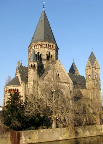 Temple Neuf in Metz (Frankreich)