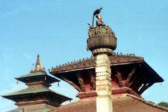 König Pratapamalla und seine vier Söhne