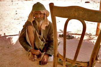 ein alter Sinai-Beduine