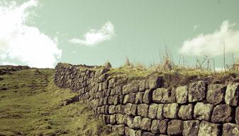 Hadrians wall; Vorbild für die große Mauer in Game of Thrones