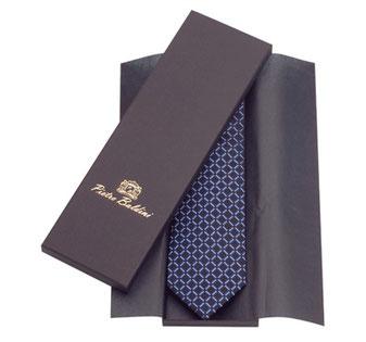 Krawatten Schachtel mit eleganter Papier Struktur