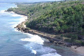 spanish wall beach rincon puerto rico