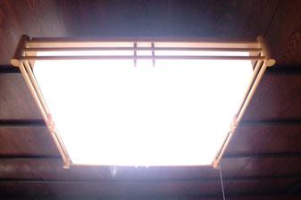 古い蛍光灯をLEDに改造