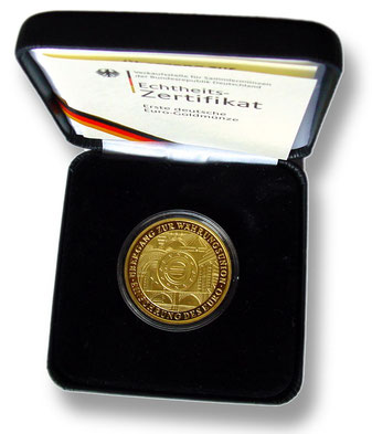 BRD 200 Euro Goldmünze 2002