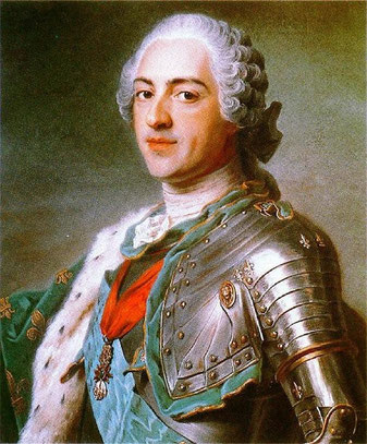 Мишель ван Лоо.Портрет короля Людовика XV, 1763