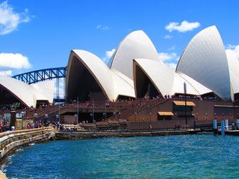 how to get into Sydney opera house