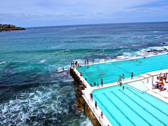 famous swimming pool in Sydney
