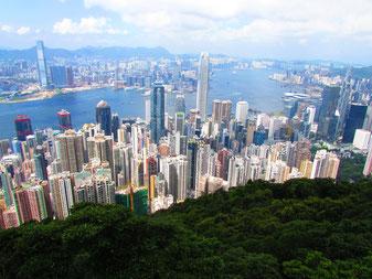 The Peak Hike Hong Kong