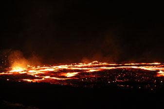 вулкан Арта Але в Эфиопии
