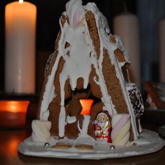Lebkuchenhaus kinderleicht bauen