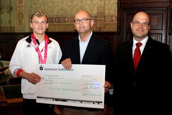 Henrik Hannemann erhält zusätzliche Sportpool-Förderung. Foto: Sabine Küster 02.09.2014