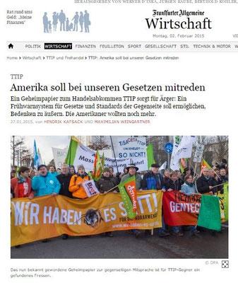 Frankfurter Allgemeine 27.01.2015
