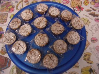 お焼き菓子はもう1種「軽井沢ガレット」の「ブロンシェ」