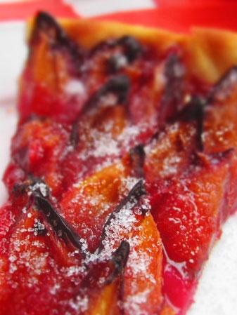 Zwetschgenkuchen Pflaumenkuchen Rezept vegan glutenfrei