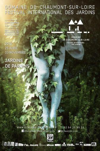 jardin chaumont domaine chateau loir-et-cher 41 tourisme festival international