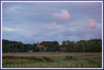Morgenhimmel über Middelhagen.