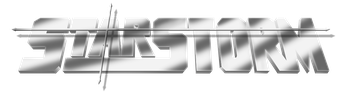 Logo de Star Storm, nombre que iba a llevar la serie en EE. UU.