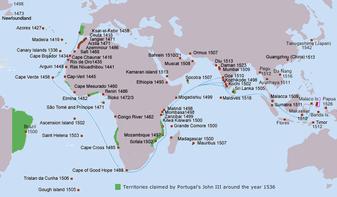 16世紀のポルトガル語世界