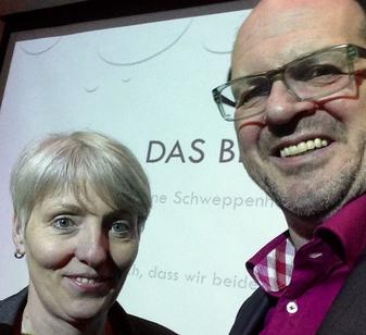 Anne Schweppenhäußer (li); Peter Tschötschel (re), Foto (privat)