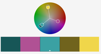 Farbkreis triadisch