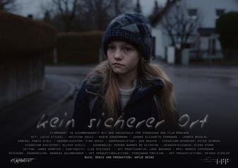 Filmplakat: Kein sicherer Ort © Filmmagnet & HFF München