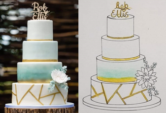 cupcakes voor je bruiloft bestellen