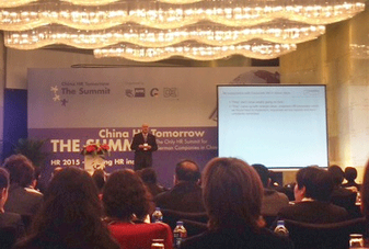Executive Search Consulting Team China: German Chamber HR Summit Shanghai, China
