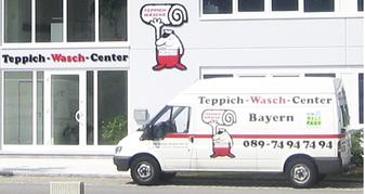Nach Terminvereinbarung holen unsere Fahrer Ihren Teppich bei Ihnen Zuhause ab.