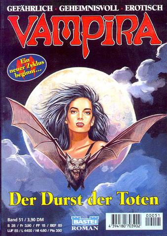 Vampira Taschenhefte 51