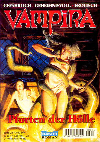 Vampira Taschenhefte 24