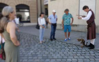 Jakobsplatz mit Drache