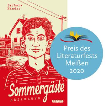 Barbara Handke erhält den Literaturfestpreis Meißen 2020 für »Sommergäste«