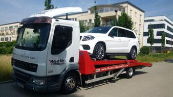 PKW, Anhänger, Fahrzeugtransport