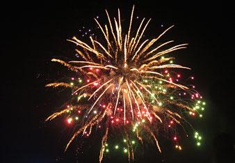 15. Juli 2016 - Le feu artifice dans l'original